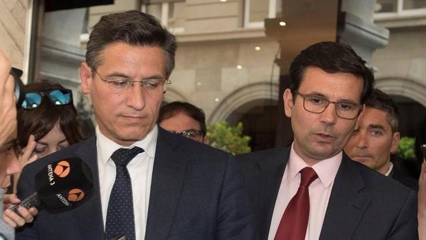 Luis Salvador (izquierda) y Francisco Cuenca (derecha) en una imagen de archivo