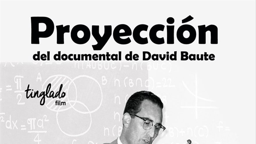Cartel diseñado para informar de la exhibición del documental en la Casa de la Cultura