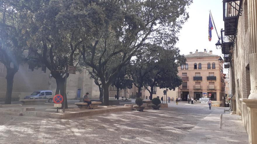 Plaza de la Catedral de Huesca