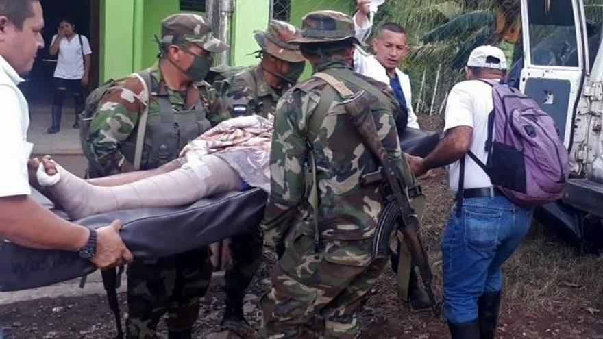 Doce muertos y cinco casas destruidas en avalanchas por el huracán Iota en Nicaragua