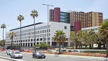 Hospital Universitario Insular de Gran Canaria. (ALEJANDRO RAMOS)