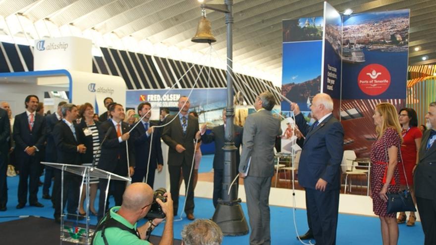 Autoridades y organizadores del Seatrade Cruise Med inauguran oficialmente el congreso en Tenerife