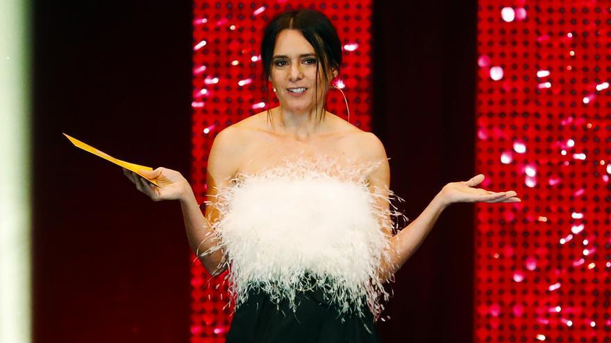 Eva Santolaria en los Premios Feroz