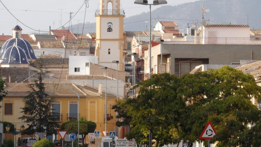 La localidad alicantina de El Pinós.