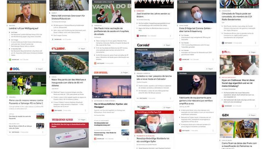Google News Showcase se lanzó a nivel global.