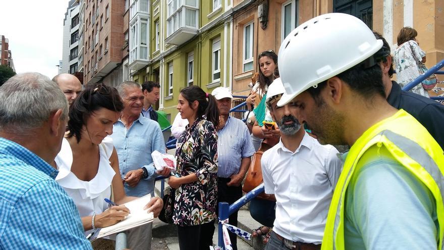 """En """"buen estado"""" las diez viviendas que quedaron en pie tras el derrumbe del edificio de la calle del Sol"""