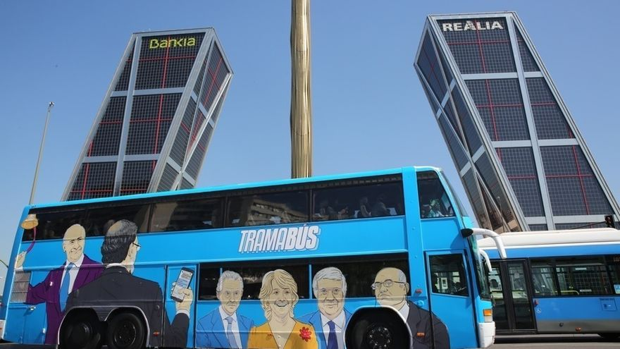 Podemos cancela su 'Tramabús' en su segundo día de ruta por problemas técnicos del vehículo