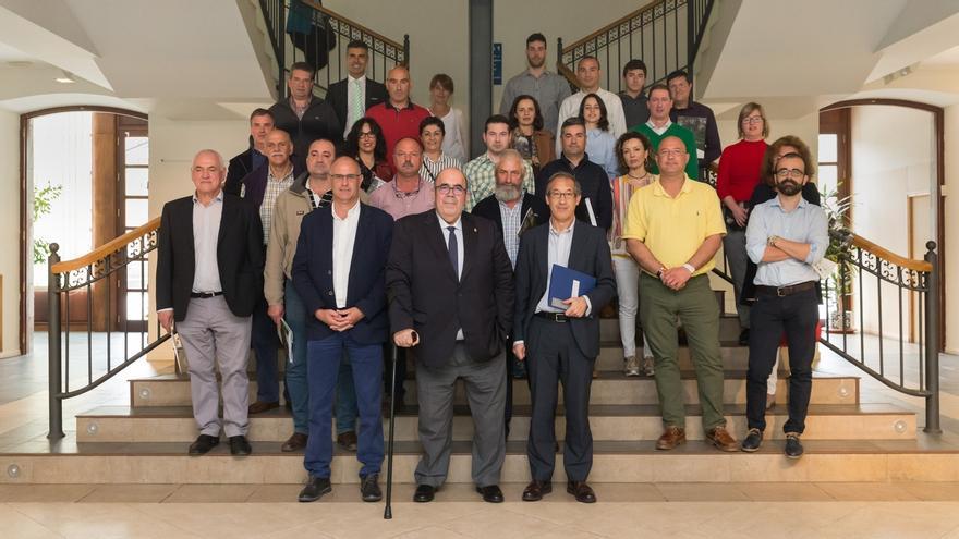 Oria firma ayudas a 26 proyectos que suman una inversión de 4,2 millones en la comarca
