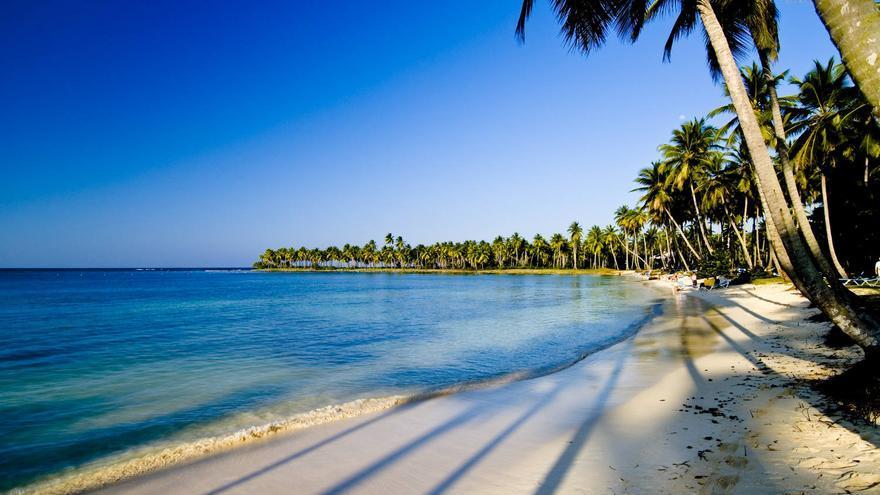 Playa de El Portillo, en la Península de Samaná. TURISMO DE A REPÚBLICA DOMINICANA