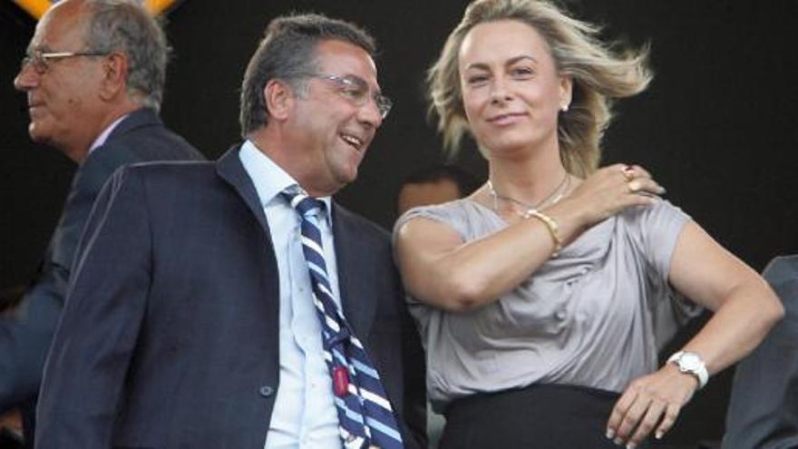 Enrique Ortiz y Sonia Castedo