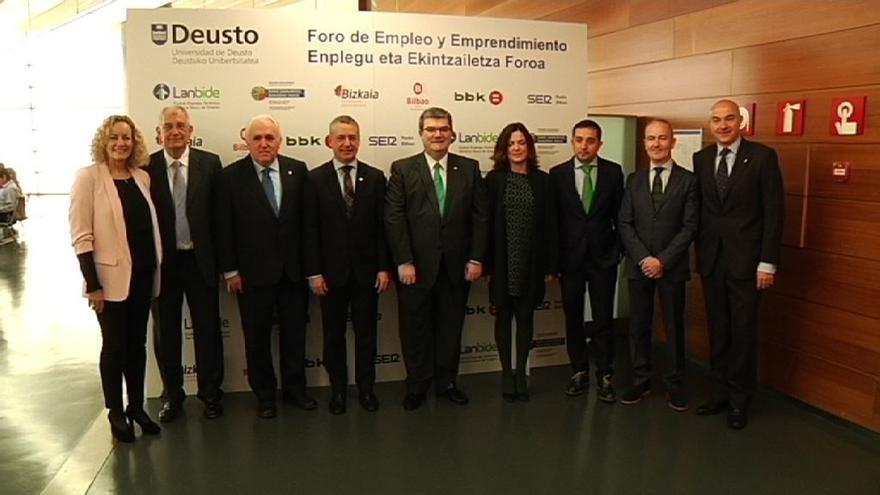 """Urkullu se compromete con el """"reto"""" de  """"ofrecer una oportunidad laboral"""" a 20.000 jóvenes vascos hasta 2020"""