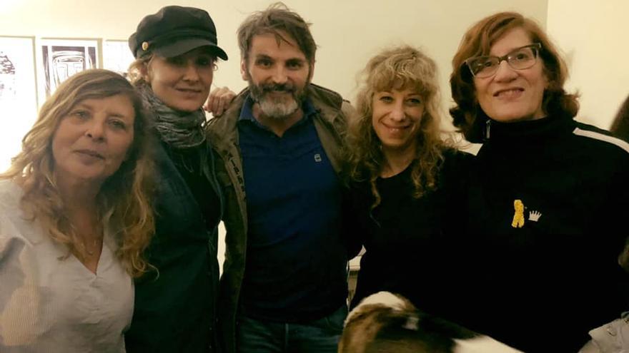 Alejandra García, Nathalie Poza, Fernando Tejero, Nathalie Seseña y Ruth Toledano