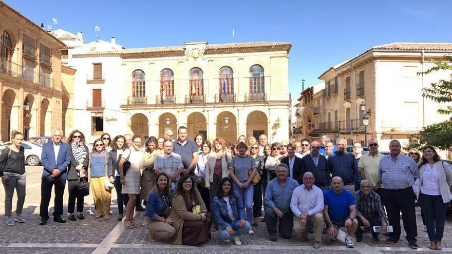 En Albacete algunos municipios se sumaron a la concentración