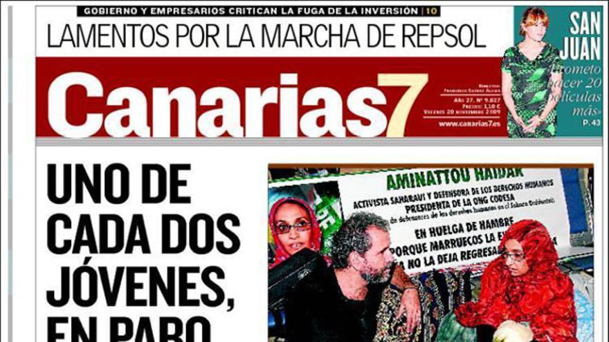 De las portadas del día (20/11/2009) #8