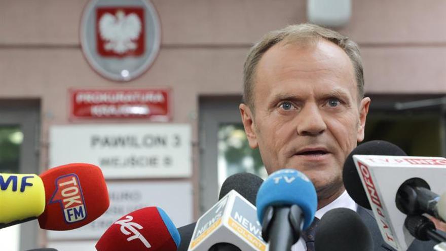 Tusk citado de nuevo ante Justicia polaca por accidente de avión presidencial