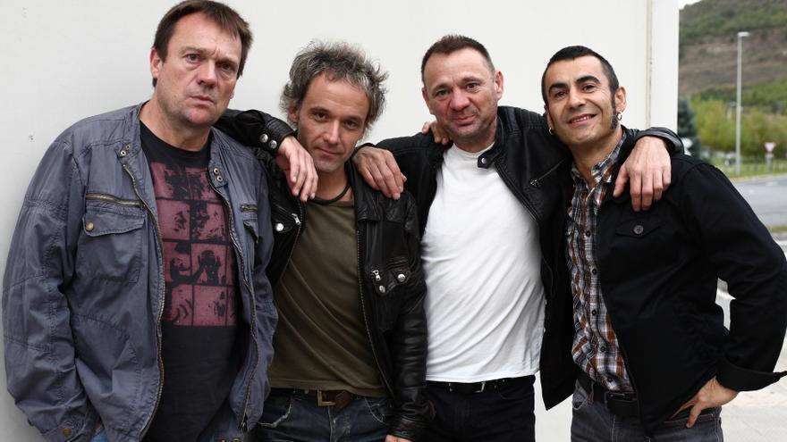 La banda de punk procedente de pamplona, Lendakaris Muertos.