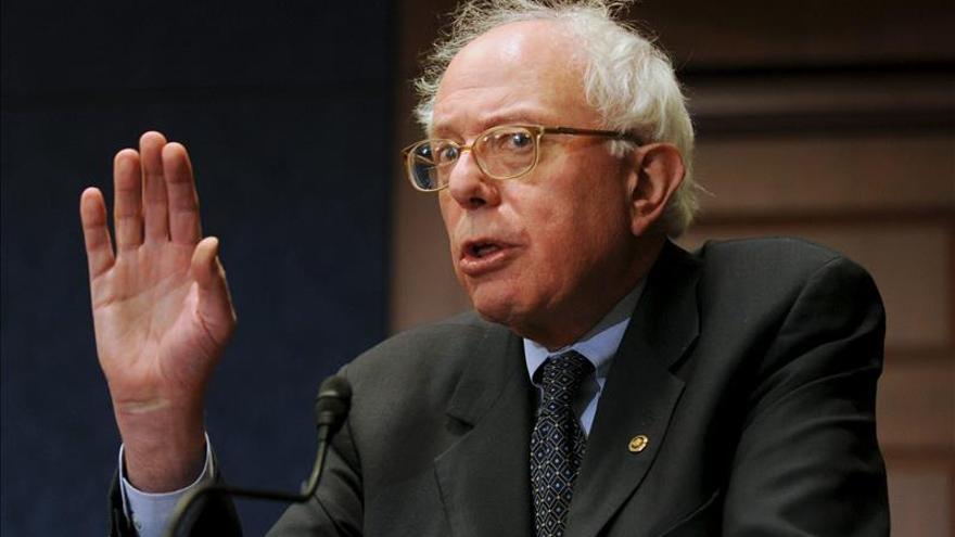 El senador Sanders recauda 1,5 millones de dólares en su primer día y supera a los republicanos