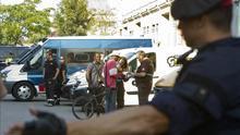 Los Mossos han desalojado esta mañana la nave del Poblenou ubicada en la calle Puigcerdà.