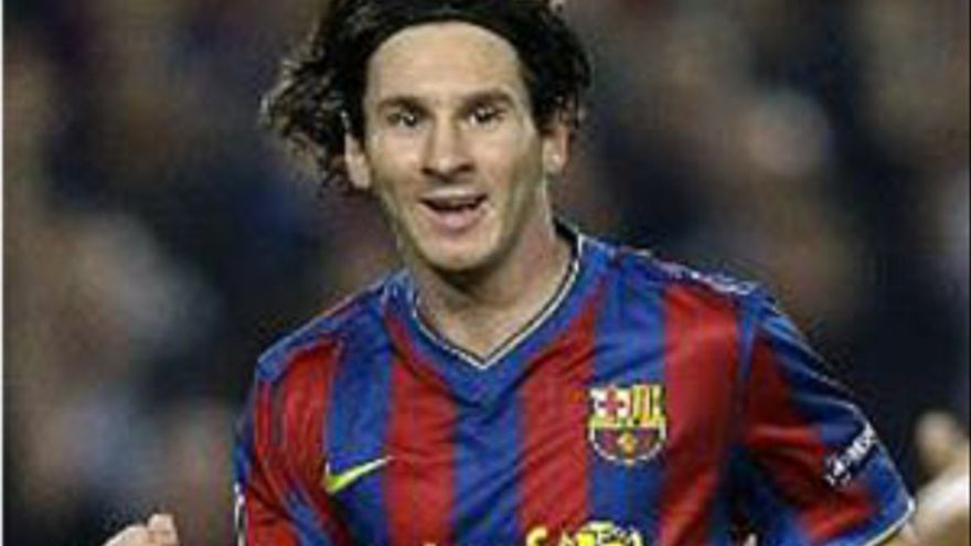 Messi, autor del primer gol del partido. (EP)