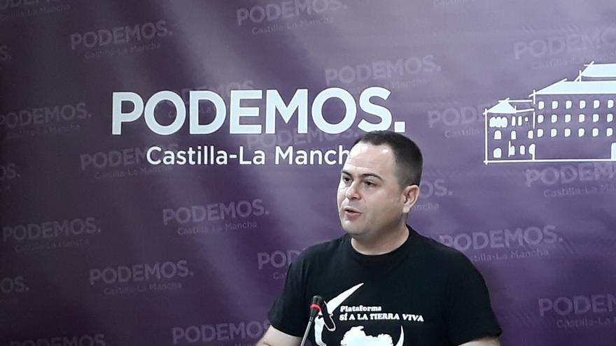 El diputado de Podemos, David Llorente