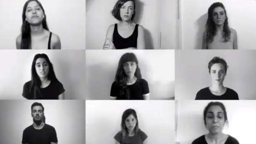 Vídeo de 'mira cómo nos ponemos', tras la denuncia de  Thelma Fardín.