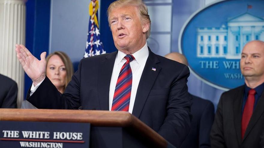 Trump defiende su gestión ante los rumores de un proceso de destitución