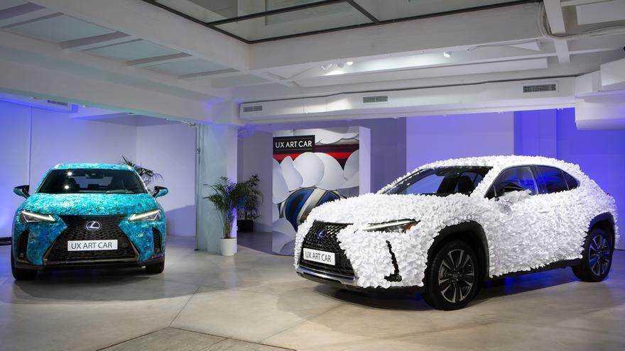 Lexus UX Art Car: arte sobre la piel