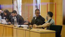 Uno de los momentos del juicio que se ha venido desarrollando desde el lunes en la Sección II de la Audiencia Provincial de Santa Cruz de Tenerife