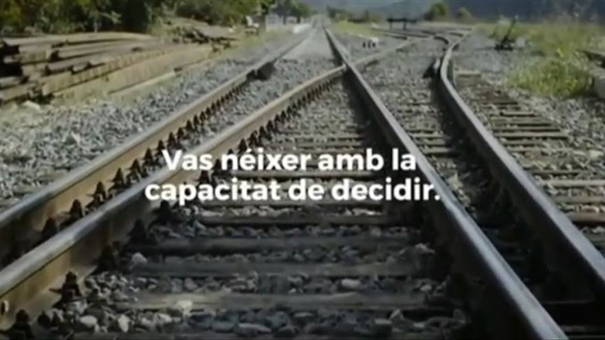 Campaña de la Generalitat por el referéndum del 1-O.