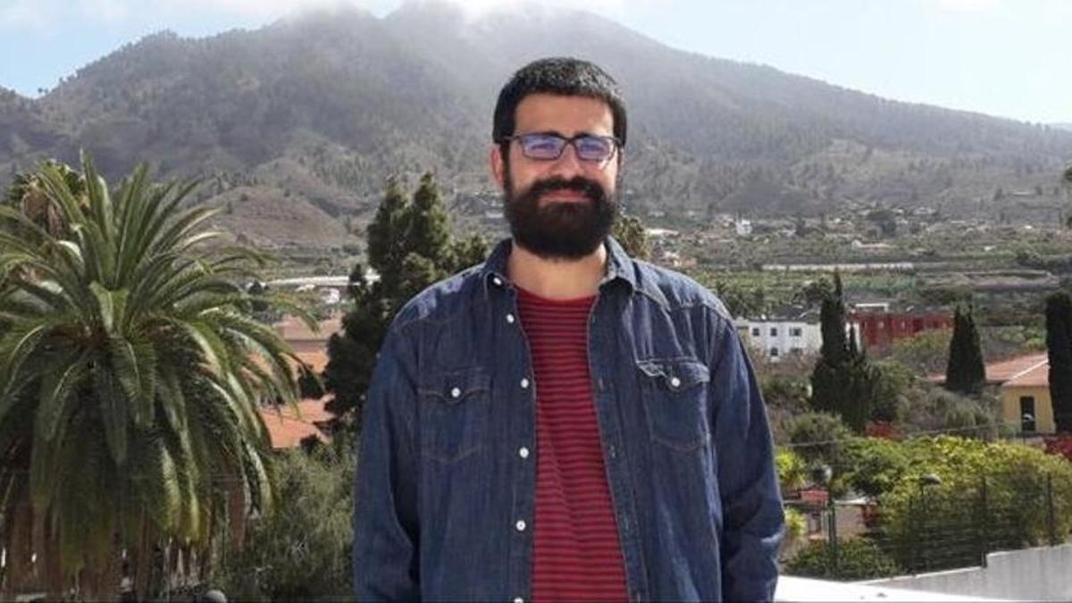 Felipe Ramo, portavoz de IUC en el Ayuntamiento de Los Llanos de Aridane.