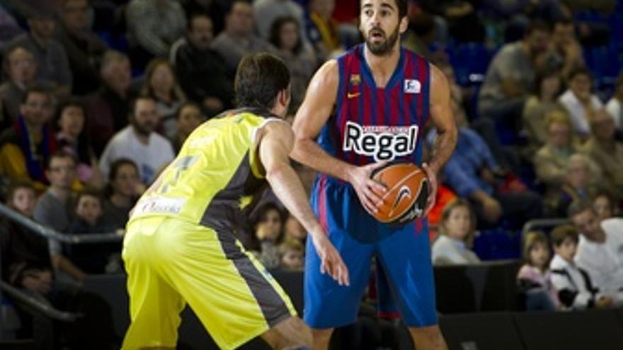 El jugador del Barcelona Regal, Juan Carlos Navarro