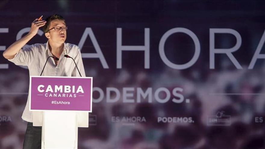 """Errejón dice que la campaña de la ilusión de """"gente decente"""" puede ganar a la del miedo"""