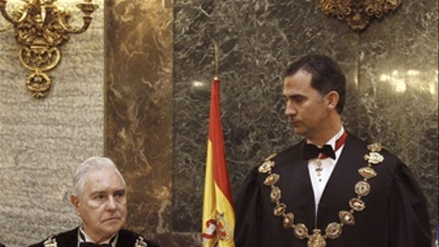 Carlos Dívar, En El Bicentenario Del Supremo