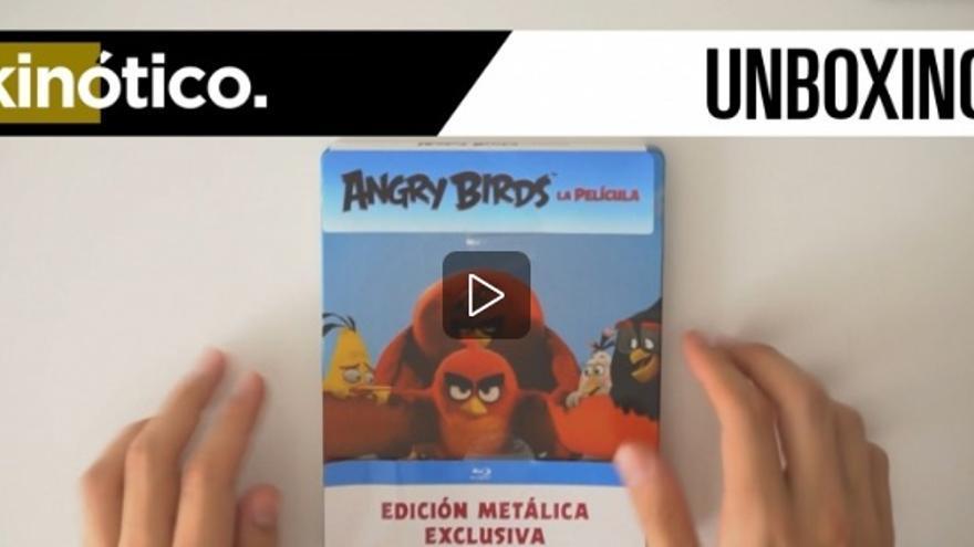 Analizamos el lanzamiento en BluRay de 'Angry Birds, la película' [7 sep 2016]