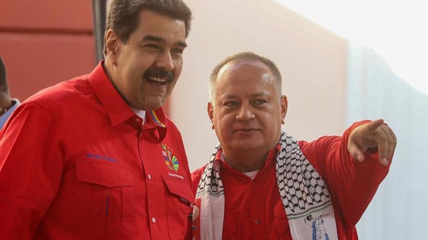 EE.UU. ofrece una recompensa de 15 millones de dólares por Maduro y de 10 por Cabello