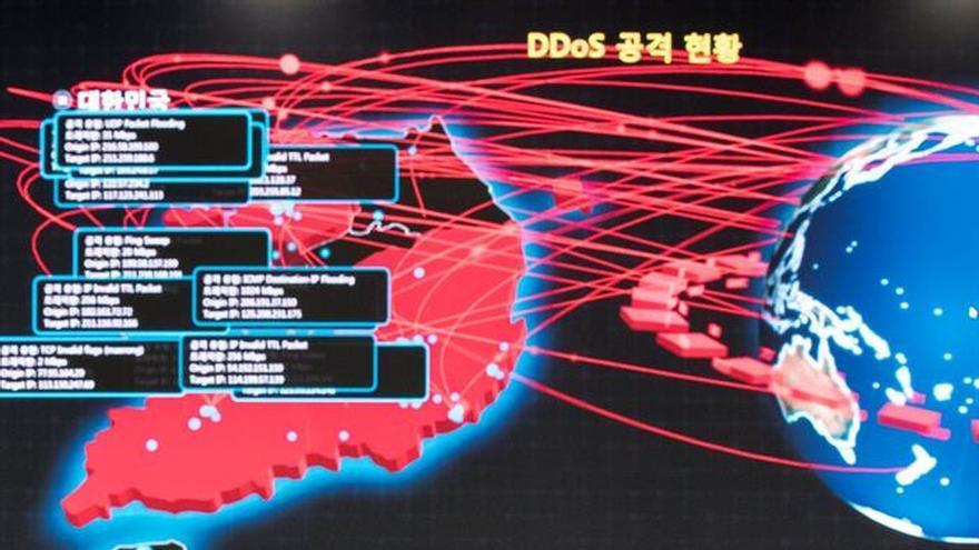 Una decena de empresas surcoreanas están afectadas por el ciberataque global