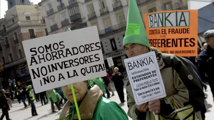 """Adicae demandará a Bankia por la """"estafa"""" de las preferentes"""