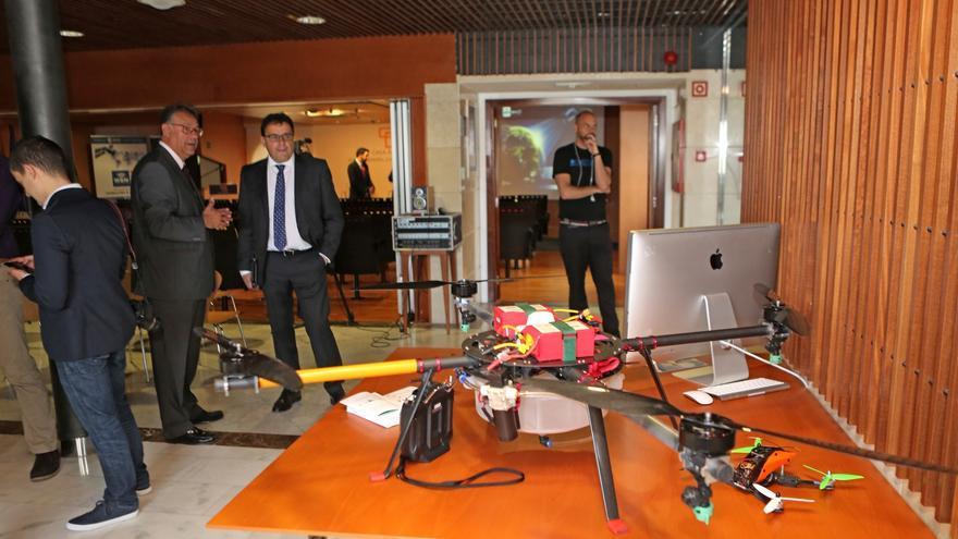 Dron empleado por WSN