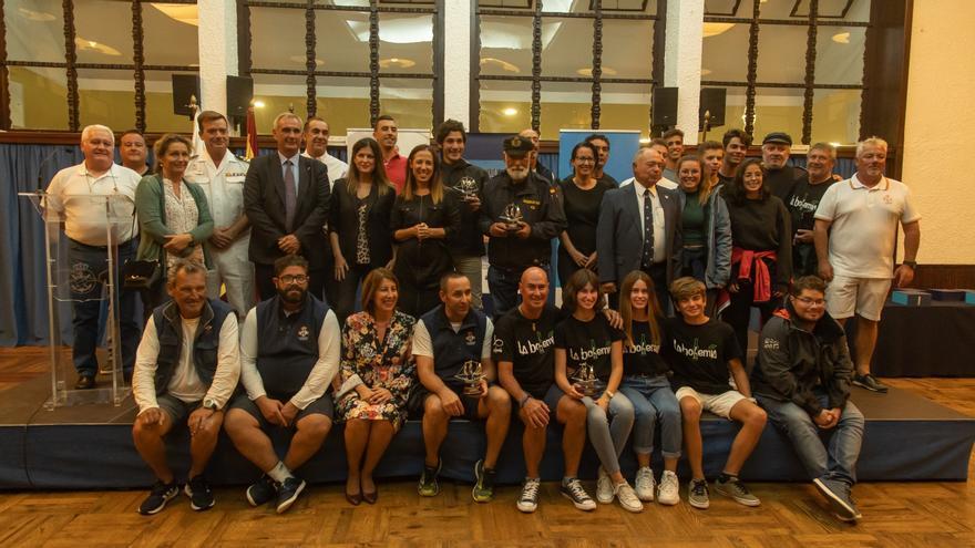 Entrega de premios de la regata Centenario Vuelta al Mundo
