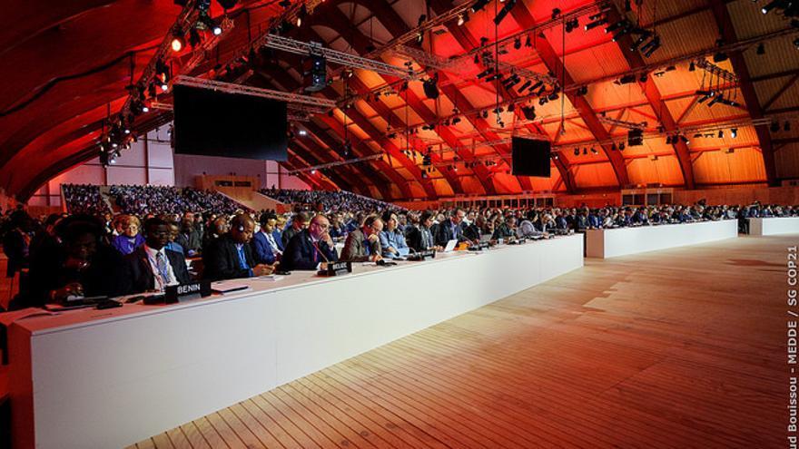 Plenario en la Cumbre de París / COP21