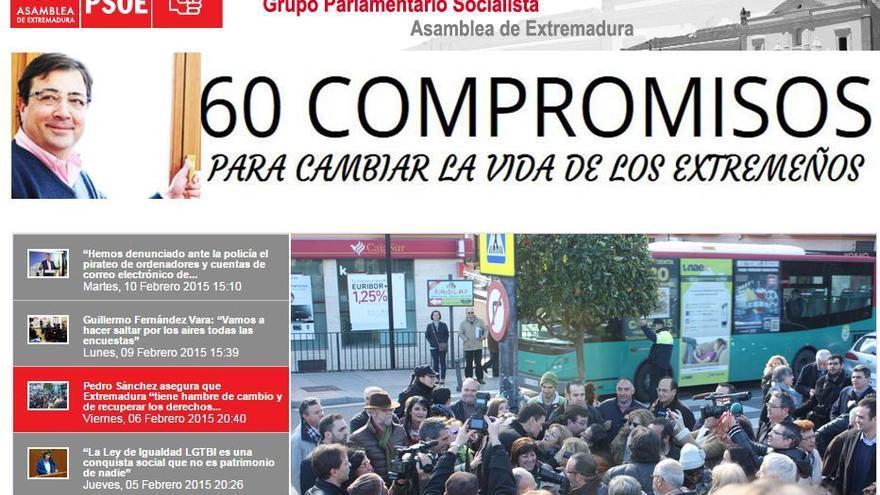 PSOE, Extremadura