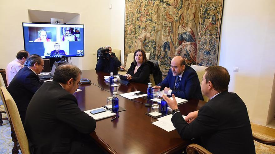 Videoconferencia del Gobierno regional con agentes sociales, este viernes