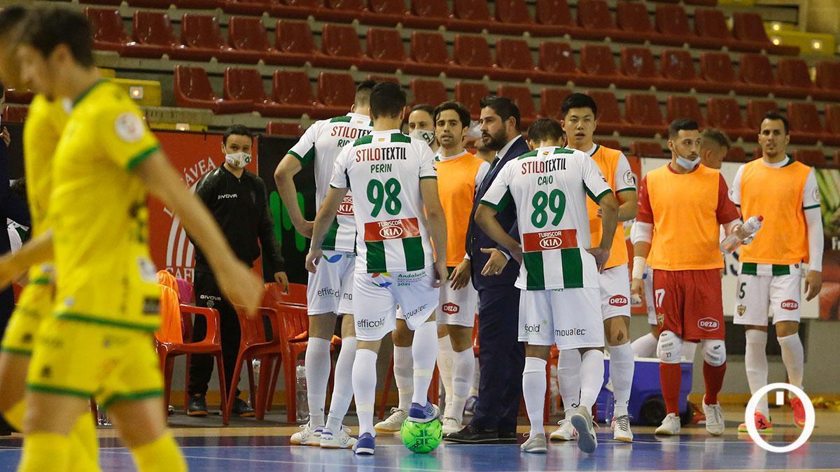 Jugadores del Córdoba Patrimonio durante un partido