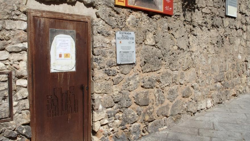 Entrada al túnel de Alfonso VIII