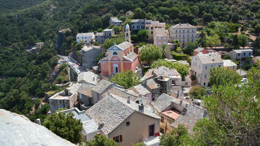 Casitas de Nonza, en Cap Corse. Paul Arps