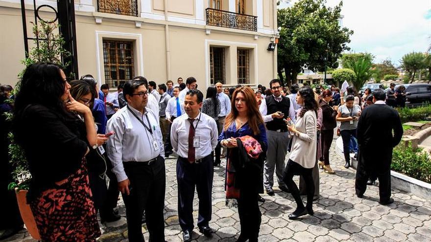 Mas de 1.500 réplicas del terremoto de 7,8 grados del 16 de abril se registran en Ecuador