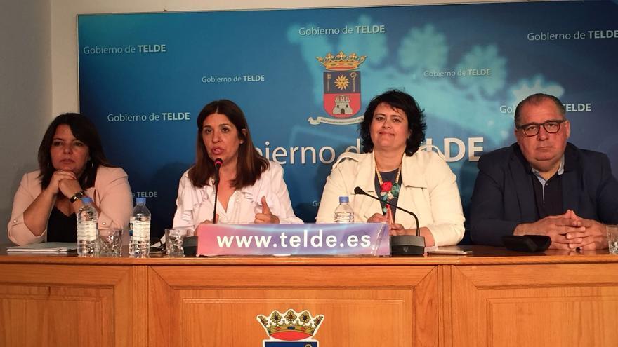 Rueda de prensa del grupo de gobierno del Ayuntamiento de Telde