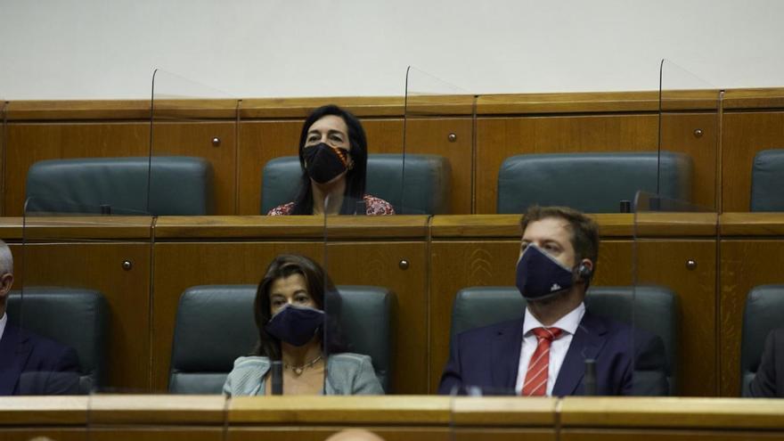 El Parlamento Vasco rechaza la pretensión de Vox de cambiar el nombre del grupo mixto para incluir sus siglas