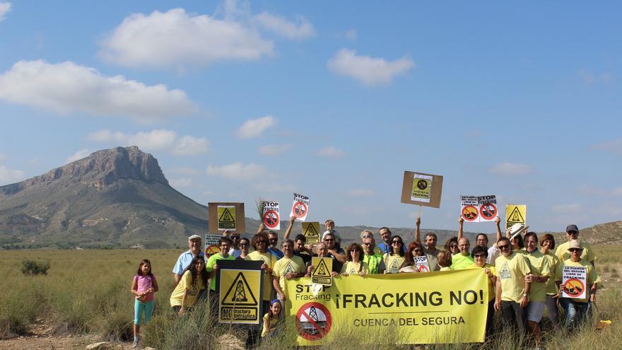"""Bicicletas por la Cuenca del Segura contra el """"fracking"""""""