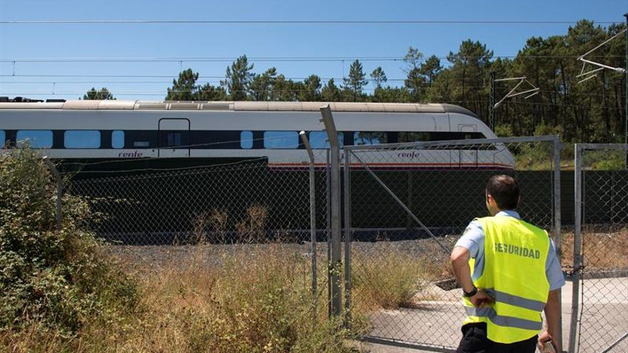 Dos víctimas mortales en el accidente ferroviario de O Porriño